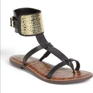Sam Edelman Black Genette Sandals
